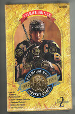 1993-94 LEAF HOCKEY SERIES 2 SEALED BOX POSSIBLE MARIO LEMIEUX AUTO -52 HOF'ERS
