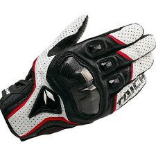 RST390 Mens Motorcycle XL SIZE White Perforated leather Mesh Gloves RS Taichi