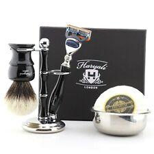 5 PCS Groomsmen Shave Kit Unique Wedding Shaving Gifts for Mens & Barber HARYALI