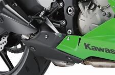 Kawasaki ZX6-R 2013  Echt Carbon Hitzeschutz Auspuff