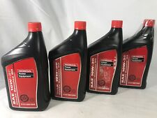 Pack of 4 Genuine Honda 08207-10W30 Motor Oil fits GX390 EU2200i 7000i Generator