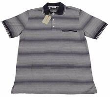 Brioni Camiseta Polo para Hombre Hecho a Mano BNWT Sz M / Eu 48 UK 38 Algodón en