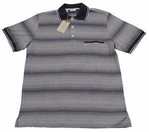 Brioni Mens Polo T Shirt Handmade BNWT SZ M / EU 48 UK 38 Cotton Made in Italy