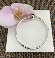 "Pandora Bangle Bracelet Sterling Silver Size 7.5"" / 19 cm, #590713"