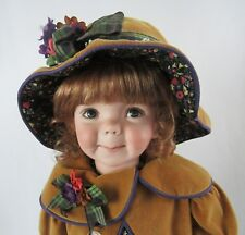 "Dianna Effner Studio Expressions 2000 OOAK Sample 21"" Birdie Doll - All Original"