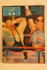 Wrestling Eye, The Hart Foundation- September 1987