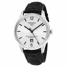 Tissot Men's T-Classic Silver Dial Powermatic 80 Automatic Watch T0994071603700