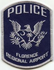 FLORENCE SOUTH CAROLINA SC REGIONAL AIRPORT POLICE PATCH