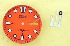 NEW SEIKO ORANGE DIAL HANDS MINUTE TRACK SET FOR SEIKO 6309 7040 WATCH NR#216