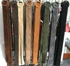 ´ Kleider-Binde Gürtel ´´aus Echten Wildleder verschiedene Farben erhältlich ´´