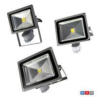 20W 30W 50W Fluter Strahler Scheinwerfer mit Stecker mit Bewegungsmelder LED