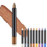 Beauty Highlighter Eyeshadow Pencil Cosmetic Glitter Eye Shadow Eyeliner Pen uk