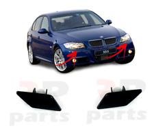 FOR BMW 3 SERIES E90 E91 05-09 M SPORT HEADLIGHT WASHER COVER CAP PAIR SET