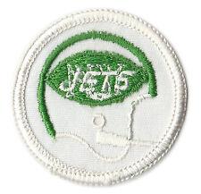 "1972-77 NEW YORK JETS NFL FOOTBALL 2"" HELMET TEAM PATCH"