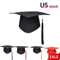 School Graduation Tassels Cap University Bachelors Master Doctor Academic Hat