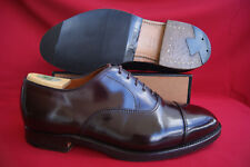 Alden Horse Leather Shell Cordovan 7,5 EE Straight Tip Bal Burgundy Oxblood Top!