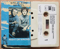 STEALERS WHEEL - RIGHT OR WRONG (A&M CAM68293) 1975 UK CASSETTE TAPE