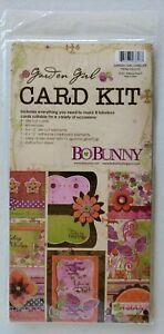BoBunny Forever CARD Making Kit GARDEN GIRL CKG173 NEW