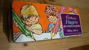 Vintage biscuit tin Cadbury's Fingers