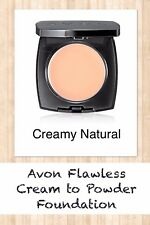 Avon Flawless Cream To Powder Foundation CREAMY NATURAL