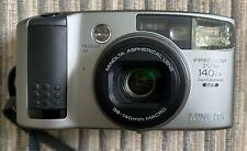 Minolta Freedom Zoom 140EX 35mm P & S Film Panorama/Date Camera, Case & Manual