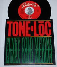 "Rap 45~TONE LOC~Funky Cold Medina~7"" Delicious Vinyl w/ Picture Sleeve"