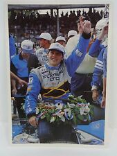 Jacques Villeneuve Indianapolis 500 Post Card Player's Team Green