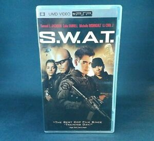 S.W.A.T. (PSP UMD Movie, 2005) with Samuel L. Jackson, Colin Farrel, LL COOL J..