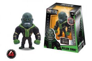 "Jada Toys Die-Cast Metals DC Suicide Squad Green Killer Croc 4"" Figure M168"