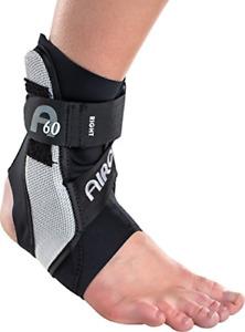 Aircast A60 Ankle Support Brace, Left Foot, Black, Medium Shoe Size: Men's 7.5 -