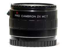 Cambron AF 7 Element 2x Teleconverter Lens 8 pins Minolta Maxxum /Sony A900