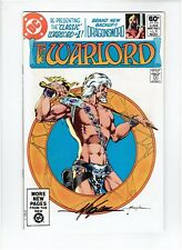 The Warlord #51 1981 Signed Mike Grell