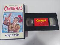 CANTINFLAS MARIO MORENO - ABAJO EL TELON - VHS CINTA TAPE COLECCION RBA
