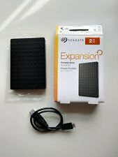 Seagate Expansion 2TB Portable External Hard Drive - Black