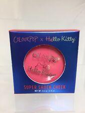 BNIB Colourpop x Hello Kitty Coin Purse Blush  Super Shock Cheek