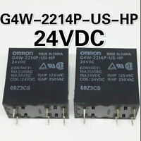 Omron G4W-2214P-US-HP 24VDC 15A Power Relay 6 Pins