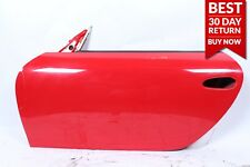 97-04 Porsche Boxster 986 Front Left Driver Side Exterior Door Shell Frame Red