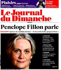 Le Journal du Dimanche n°3660 du 5/3/2017**Pénélope FILLON parle*19 dépositions