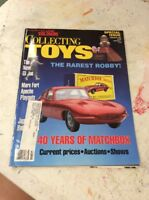 VINTAGE TRAIN MAGAZINE Collecting Toys February 1993