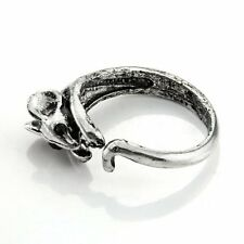 Mouse Rings - Silver Color - Adjustable (R36)