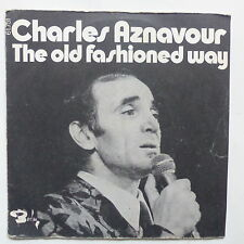 CHARLES AZNAVOUR The old fashioned way 61571
