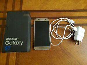 Samsung Galaxy S7 SM-G930 - 32GB - Gold Platinum (Sprint) Smartphone