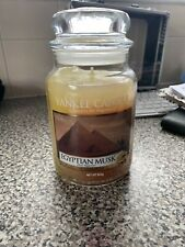 Yankee Candle New With Defects Please Read Description Egyption Musk Large Jar