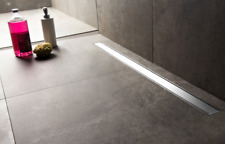 Tile Insert Linear Shower Drain Rectangular Drains Stealth Trench Floor Drain