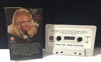 Peggy Lee Make It With You 10 track paper label CASSETTE TAPE Capitol 4XT-622