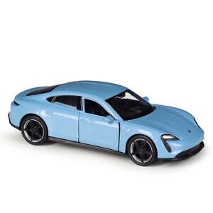 1:43 Porsche Taycan Turbo S Die Cast Modellauto Auto Spielzeug Model Sammlung