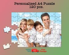 Personalised Custom Photo Puzzle Jigsaw Puzzle 120 Pieces.