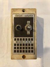 Vintage Wurlitzer Jukebox Volume Control
