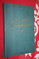 AGENDA BUVARD DU BON MARCHE 1914 BON ETAT AVEC INSCRIPTIONS VOIR PHOTO