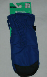Mountain Warehouse Blue Kids Winter Warm Skiing Snow Mittens Gloves Medium Tags